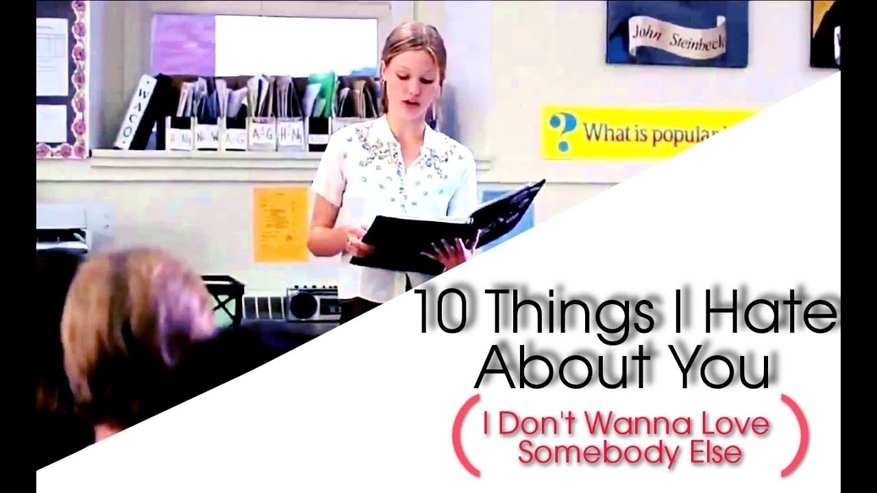 10 Things I Hate About You Poem: MultiCouple // 10 Things I Hate About You Poem