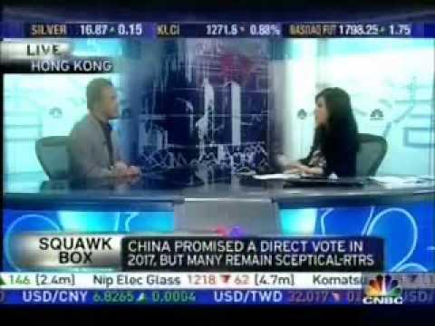 Michael Tien- CNBC Interview on Mass Resignation (27/1/2010)
