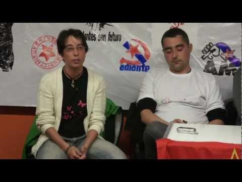 """""""A mocidade como factor revolucionario"""" (CIG, CNT, CUT, UGT, CGT en #pecheourense)"""