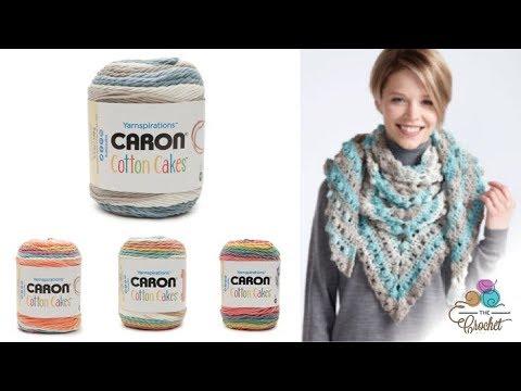 Caron Cotton Cakes Yarn Youtube
