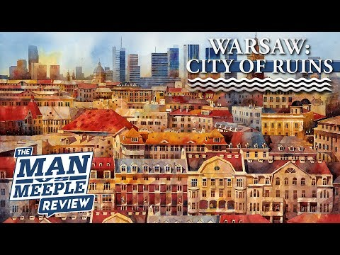 Warsaw: City of Ruins Review by Man Vs Meeple (North Star Games)
