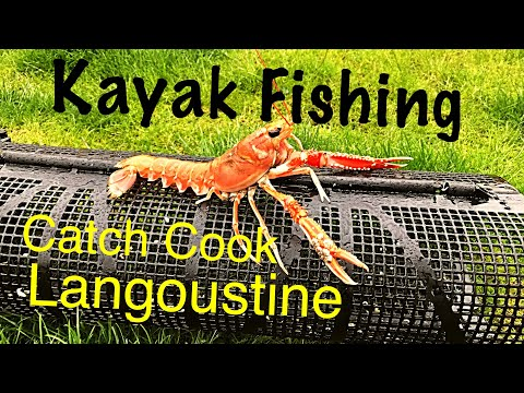 Kayak Fishing For Langoustine - Catch And Cook