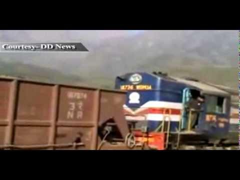 Railways conduct trial run of Udhampur-Katra train