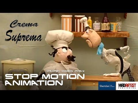 "Stop Motion Animation ""CREMA SUPREMA"" Funny Short film by Ellenora Ventura & Sheridan College"