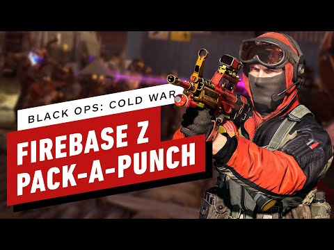 Call of Duty Cold War Zombies: How to Unlock Pack-a-Punch in Firebase Z