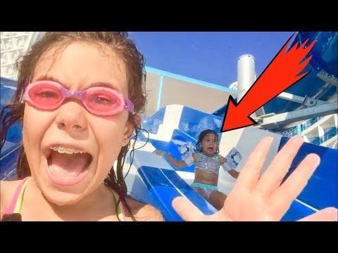 DEV AQUAPARK KEYFİ. EFLİN İLK KEZ SU KAYDIRAĞINDAN KAYACAK. Havuz Videoları. Funny Kid Video