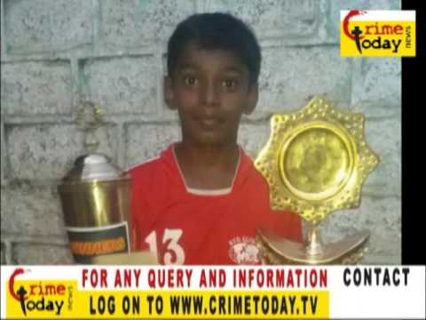 Hyderabad globe football clubSyed humza Ali under 13 tournament. area Ahmed nagar