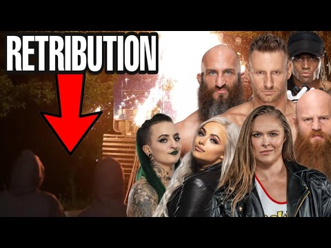 CLUES FOR THE NEW FACTION MEMBERS ON RAW? NEW WWE RETRIBUTION FACTION! NEW WWE FACTION THEORY