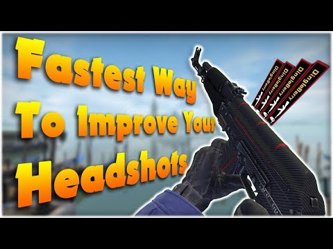CS:GO - Fastest Way to Improve Your Headshot %
