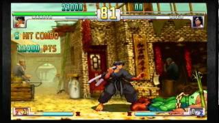 Street Fighter III:3rd Strike OE : ALCINO(Makoto) vs Hugo