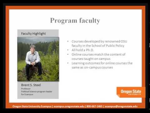 Online universities M B A