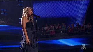 "true HD Haley Reinhart ""Blue"" - Top 13 American Idol 2011 (Mar 9)"