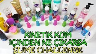 Kinetik Kum ile Eğlenceli Slime Kapışması - Bu Komik Yarışmada Kim Boş Çekti?