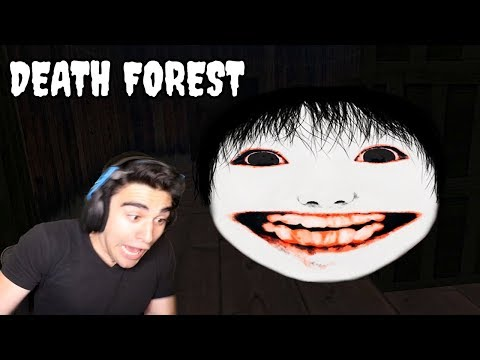 I'M LOST IN A FOREST WITH JAPANESE GHOSTS!!!!!! - Death Forest