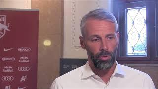 Red Bull Salzburg Cheftrainer Marco Rose im Interview