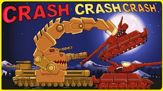 """Iron Claw on Battlefield"" Cartoons about tanks"