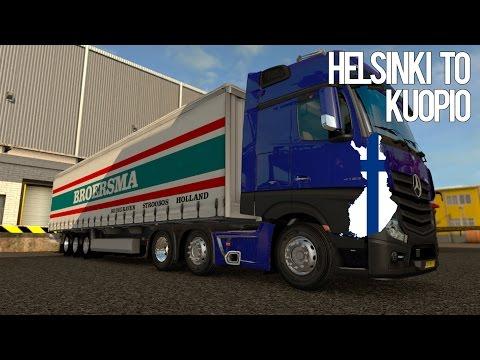 ETS2 | HELSINKI TO KUOPIO | 1080p 60fps G920 PROMODS 2.1.5