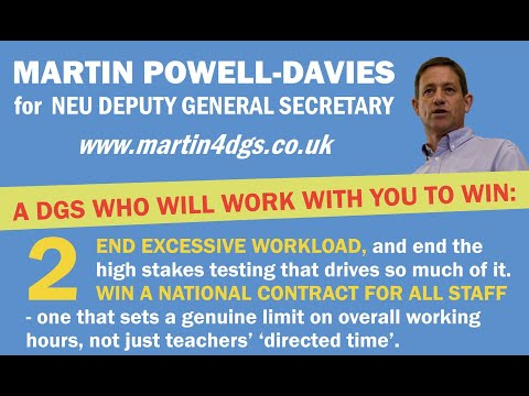 Martin speaks on Williamson's plans to worsen our workload - and calls for a National Contract for all