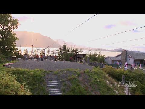 Icy Straight Point - ZipRider  World's Largest Zipline