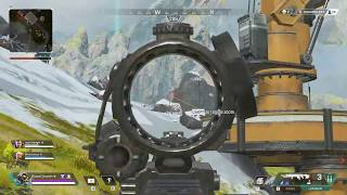 Apex Legends - Sniping a Streamer