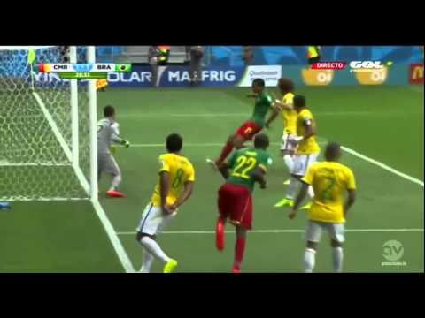 Brazil vs Cameroon 4 1 World Cup 2014 HD