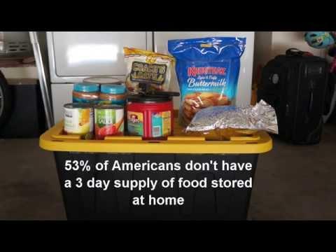 Easy Food Storage for Basic Preps