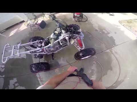 IDIOT!!! GOT WATER IN ATV ENGINE!!! 4:32 II FAIL II
