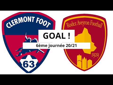 Clermont Rodez Goals And Highlights