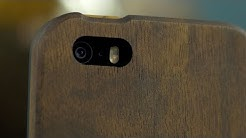 A Phone Case Made of Wood? GroveMade iPhone 5/5S Case Review... in 4K!