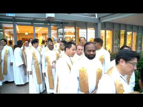 Day 1 (14 Feb 2017) - Dedication Mass @ Cathedral of the Good Shepherd