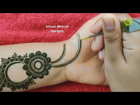 Mehndi Design   Simple Easy Mehndi Design