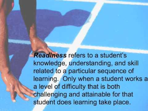 The Role Of Pre-assessment And Differentiated Instruction