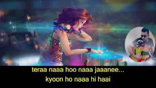 06 Yogi Raj Tum se hi karaoke with Lyrics