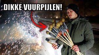 VUURWERK AFSTEKEN IN DE SNEEUW! | SUPER VEEL AFSTEKEN!