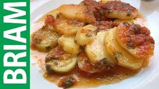 YiaYia's Greek Recipe | BRIAM Greek Vegan Recipe With Potatoes and Zucchini.