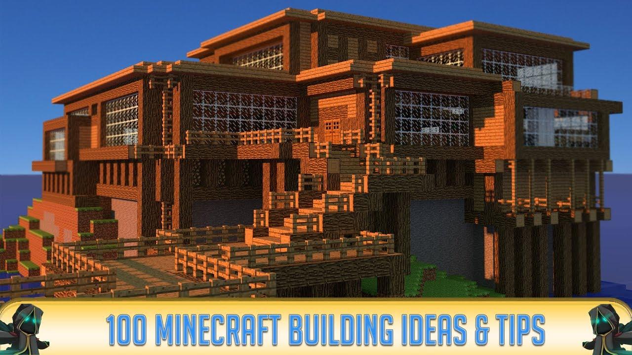 Minecraft: 100 Building Ideas & Tips! (2019)