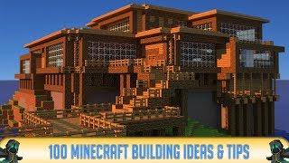 minecraft build building survival buildings looking cool designs tips