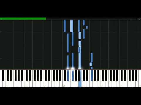 Sarah Connor - Skin on skin [Piano Tutorial] Synthesia | passkeypiano