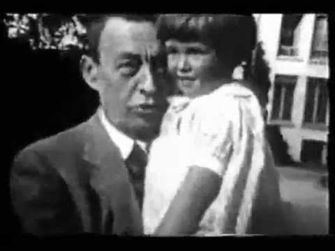 Sergei Rachmaninoff — video and voice