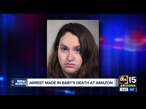 Arrest made in baby's death at Amazon facility