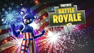 Fortnite Funny Moments - 4th of July Ramp Course, Sparkler Emote Fun, and Shopping Cart Glitch!