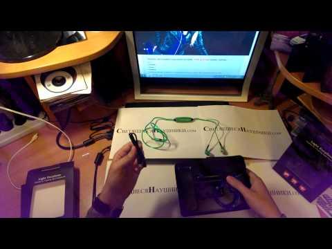Светящиеся наушники - EL технология - полный обзориз YouTube · Длительность: 2 мин31 с