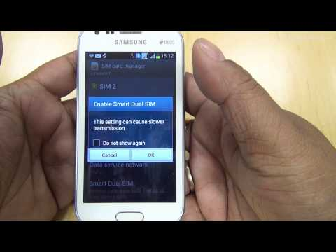 How to use Smart Dual SIM feature on Samsung Smartphones full HD