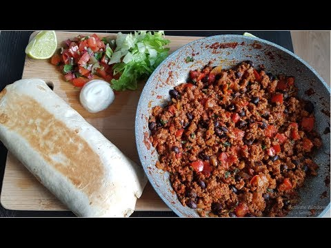 Easy Loaded Beef and Bean Burrito Recipe (Better than Taco Bell!)