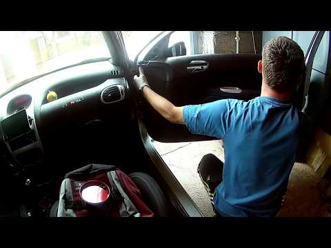 How to Install front Speakers – Peugeot 206