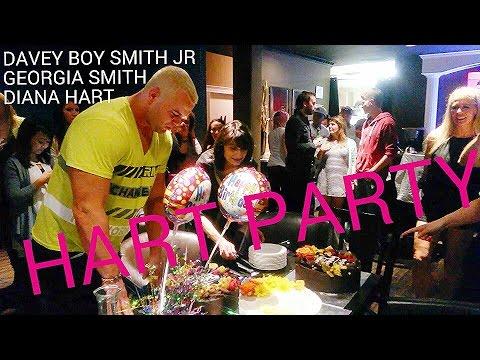 HART FAMILY TRIVIA AT DAVEY BOY SMITH JR  GEORGIA SMITH'S BIRTHDAY PARTY   AUG 2015