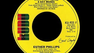 Esther Phillips ~ What A Diff