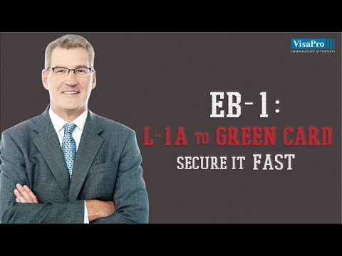 EB1, Employment-based Green Card for Multinational Managers & Executives on L1 Visa