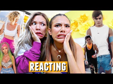 REACTING TO YOUTUBERS COACHELLA 2018 OUTFITS... Sorry dolan twins