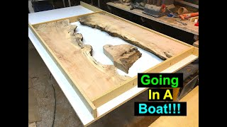 River Table for Boat DIY || Part 1 Building the Mold!!!